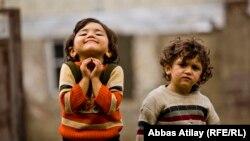 Азербайдажнские дети, 2013. Архивно-иллюстративное фото