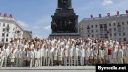 Олимпичиёни белорус қабл аз сафар ба Лондон