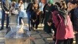 GRAB: prison cage protest in Daghestan