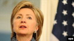 Secretary of State Hillary Clinton has offered North Korea rewards for abandoning its nuclear program, but the U.S. still has means of applying pressure as well, analysts say.