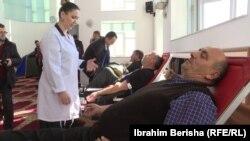Dhurimi i gjakut në xhaminë e fshatit Kraishtë, Lipjan, për nder të pavarësisë së Kosovës.