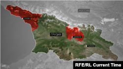 Карта Грузия (архивное фото)