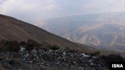 تصویر تخلیه زباله در دماوند، خبرگزاری ایسنا