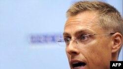 OSCE Chairman Alexander Stubb