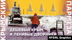 Дешевый Крым и ленивые дворники | Крымский.Пармезан