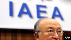 یوکیا آمانو، رئیس آژانس بینالمللی انرژی اتمی.