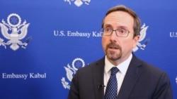 U.S. Afghan Ambassador Welcomes Taliban Prisoner Release