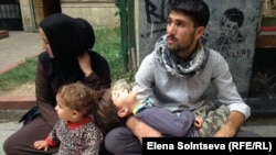 Түркияның Стамбул қаласындағы сириялық босқындар. (Көрнекі сурет.)