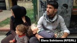 Сирийские беженцы в Стамбуле (Турция)