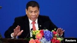 رودریگو دوترته رئیس جمهور فیلیپین