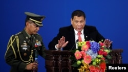 Filipinski predsjednik Rodrigo Duterte tokom posjete Pekingu 20. oktobra 2016.