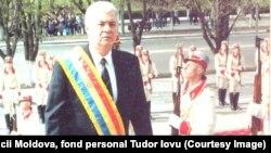 7 апреля 2001 года. Церемония инаугурации третьего президента Молдовы, лидера ПКРМ Владимира Воронина
