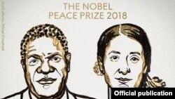 Fituesit e çmimit Nobel për Paqe, 2018