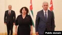 Рауль Хаджимба поздравил Альбу Асусену Торрес-Мехия с официальным началом почетной и ответственной миссии