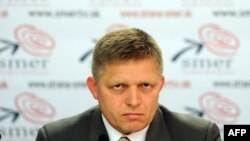 The announcement was made by Slovak Prime Minister Robert Fico (file photo)