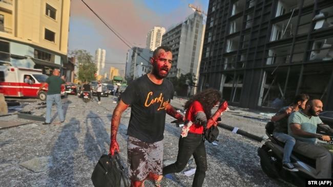 Desetine mrtvih i hiljade ranjenih u eksploziji u Bejrutu
