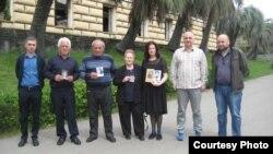 Участники проекта «Возвращение имени» в Сухуме – родственники пропавших без вести во времена Великой Отечественной войны 1941-1945 гг.