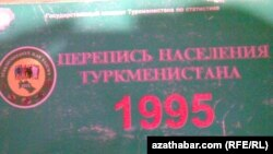 Illýustrasiýa suraty. Türkmenistanda 1995-nji ýylda geçirilen ilat ýazuwynda düşürilen surat.