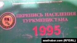 Türkmenistanda ilat ýazuwynyň geçirilmeginiň netijesinde yglan edilen iň soňky resmi sanlar1995-nji ýyla degişli