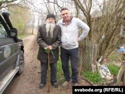 Пётар Карвэцкі і жыхар Вялікіх Шумілішак Эдвард Зык