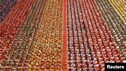 Рэпэтыцыя сьвяткаваньня Дня ёгі ў Чэнаі, Індыя, 19.06.2015