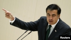 "President Mikheil Saakashvili: ""A sense of serious instability"" has emerged."