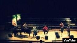 Mostar Sevdah Reunion na jednom od nastupa