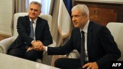 Томислав Николиќ и Борис Тадиќ.