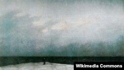 Каспар Давід Фрыдрых, «Манах каля мора» (1810).