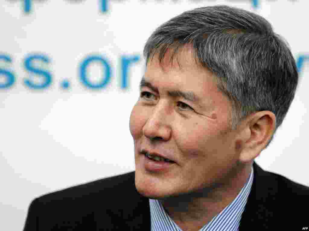 Алмазбек Атамбаев - 2007 жылғы 29 наурыздан 2007 жылғы 28 қарашаға дейін премьер-министр болды.