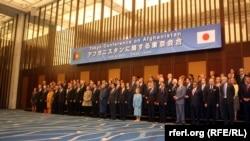 شرکتکنندگان در نشست حامیان افغانستان در توکیو، ژاپن- ۱۸ تیرماه ۱۳۹۱
