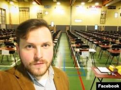 Павел Стоцко перед вступительными экзаменами в университет