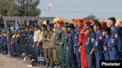 Церемония открытия полевых учений «Армения 2010». 12 сентября 2010 г.