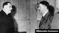 Susret Milana Nedića i Adolfa Hitlera