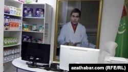 Ашхабадская аптека, июнь 2019 года.