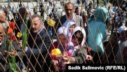 Komemorativni skup u Srebrenici, 12. april 2016.
