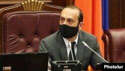 Председатель Национального собрания Армении Арарат Мирзоян, 8 июля 2020 г.