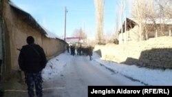 Село Чарбак, 7 января 2013 года.