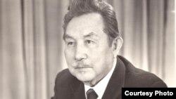 Кыргыз эл акыны Аалы Токомбаев.