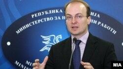 Претседателот на Комисијата за надворешна политика на Собранието Антонио Милошоски