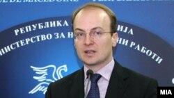 Претседателот на Комисијата за надворешна политика Антонио Милошоски