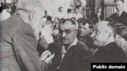 باقروف در تمام دوران سرکوبهای استالینی در دهه ۳۰ میلادی، دبیر اول حزب کمونیست در آذربایجان شوروی بود و متهم است که در سرکوبها دست داشته.