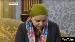 Айшат Инаева на встрече с Рамзаном Кадыровым
