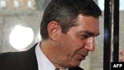 Грекияның сыртқы істер министрі Ставрос Ламбринидис.
