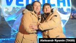 Руслан Байсаров и глава Чечни Рамзан Кадыров, архивное фото