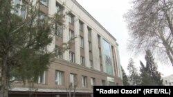 Здание министерства сельского хозяйства Таджикистана