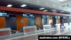 Aşgabadyň täze aeroporty, 2014.