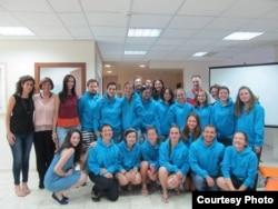 Участники программы МАСА. Фото из личного архива Надежды Золотаревой