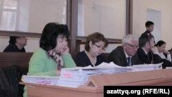 Суд по делу бывшего директора пограничной службы КНБ Нурлана Джуламанова. Астана, 15 января 2015 года.
