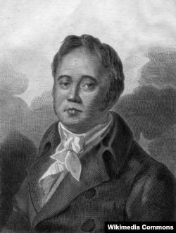 Иван Крылов. Неизвестный художник. 1825